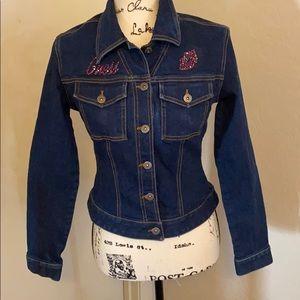 Guess Embellished Jean Jacket